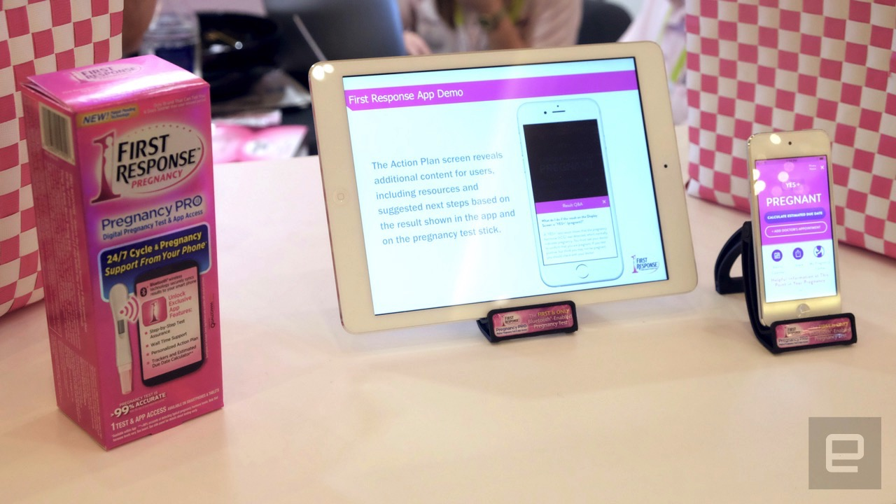 You can now buy a Bluetooth pregnancy test