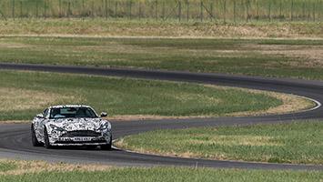 2017 Aston Martin DB11 Prototype