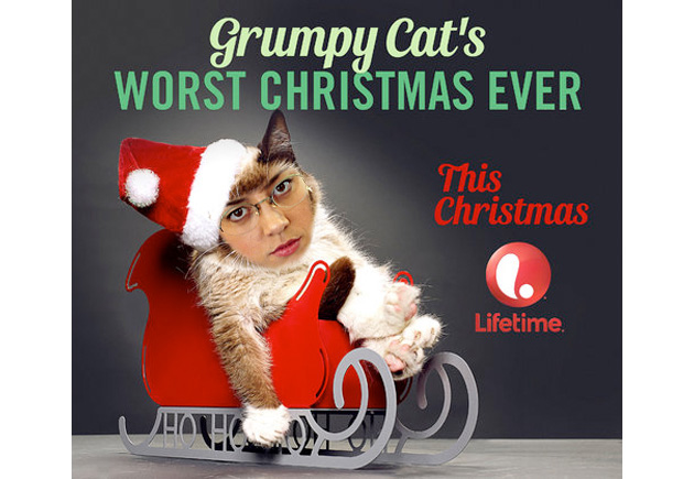 Aubrey Plaza will voice Grumpy Cat in Lifetime's holiday movie