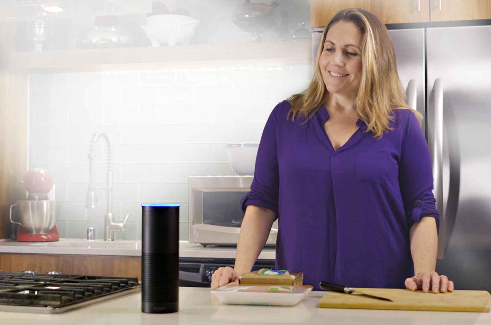 Amazon Echo in der Küche