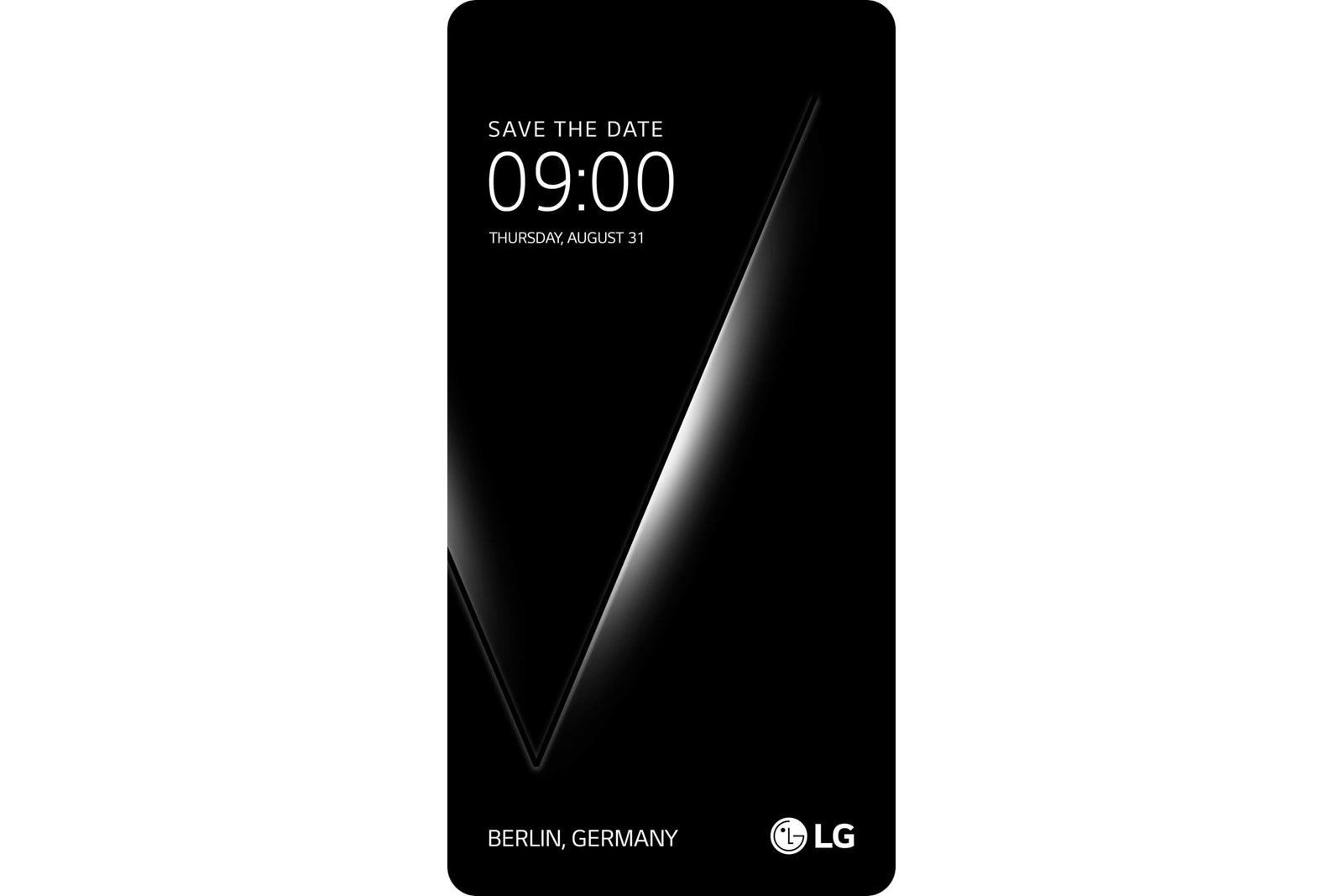 LG zeigt das V30 am 31. August in Berlin