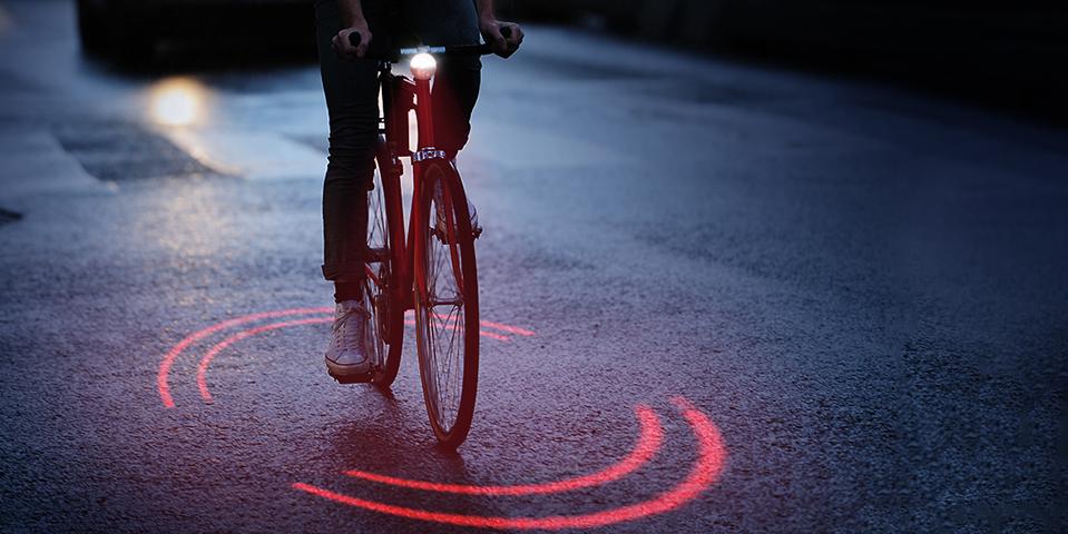 Bikesphere: Rotierende Fahrradbeleuchtung der Zukunft