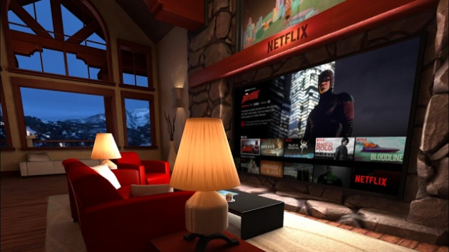 How Netflix works in virtual reality, and why it's not in HD