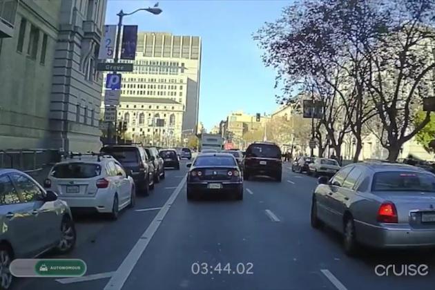 【ビデオ】シボレー「ボルト」が米国サンフランシスコで自動運転の公道テストを実施!