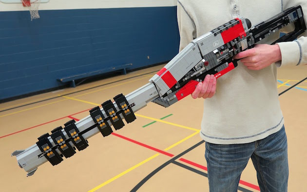 Tired of hunting rare Destiny weapons, one man built his own from Lego