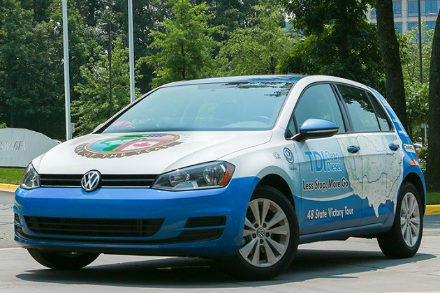 VW「ゴルフTDI」、約3万6,000円分の燃料で米国一周 低燃費のギネス世界記録も更新