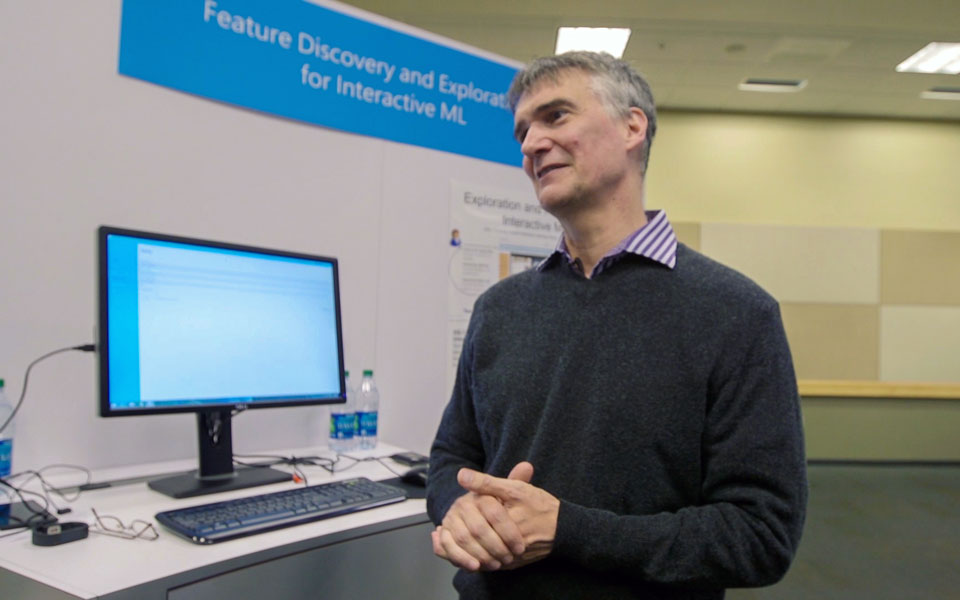 Microsoft Research's Patrice Simard and his machine teaching project