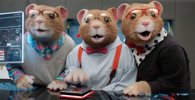 Kia Soul EV Hamsters