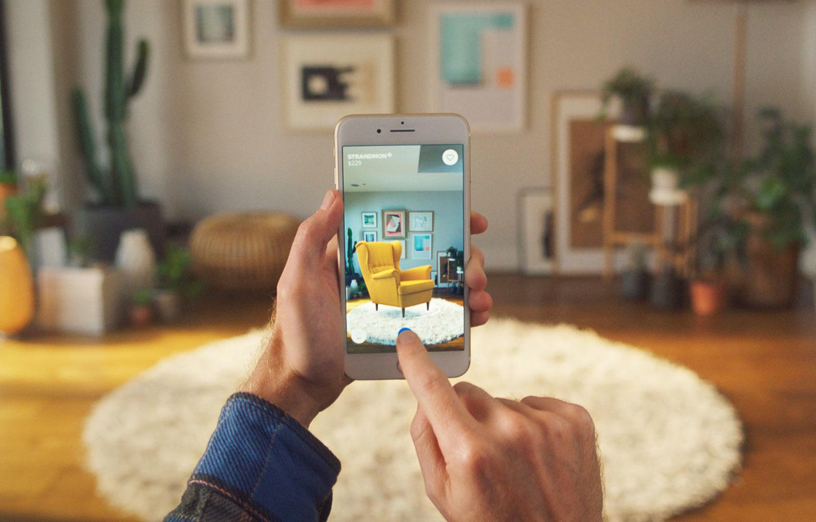 恩贝智能 IKEA 用上 iOS ARKit 的 Place app 能干嘛,大家应该都猜到了吧! Via Engadget 中国版