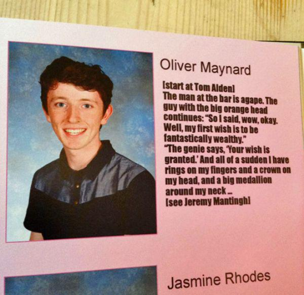 Funny Yearbook Meme : These kids wasted too much time on this awful yearbook