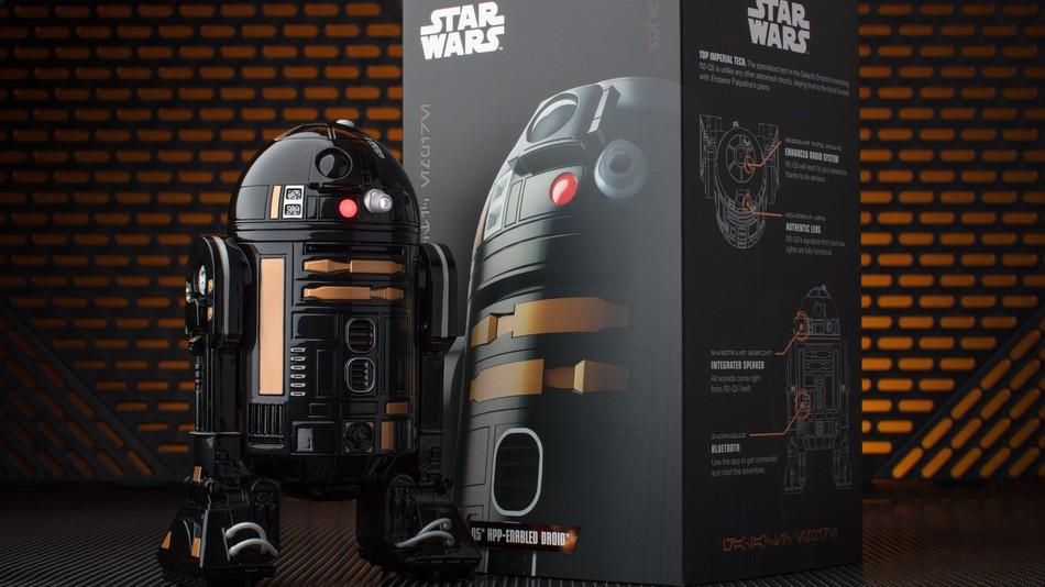 R2-Q5: Sphero hat einen bösen R2-D2 Zwilling