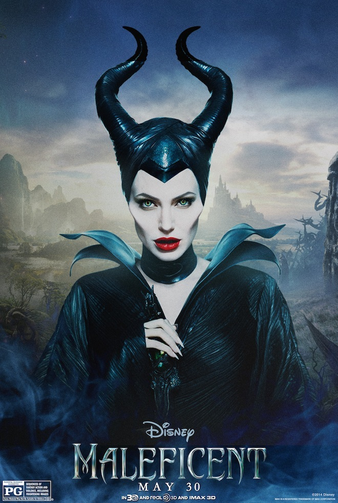 These Brand-New 'Maleficent' Posters Have a Lot of Character ...