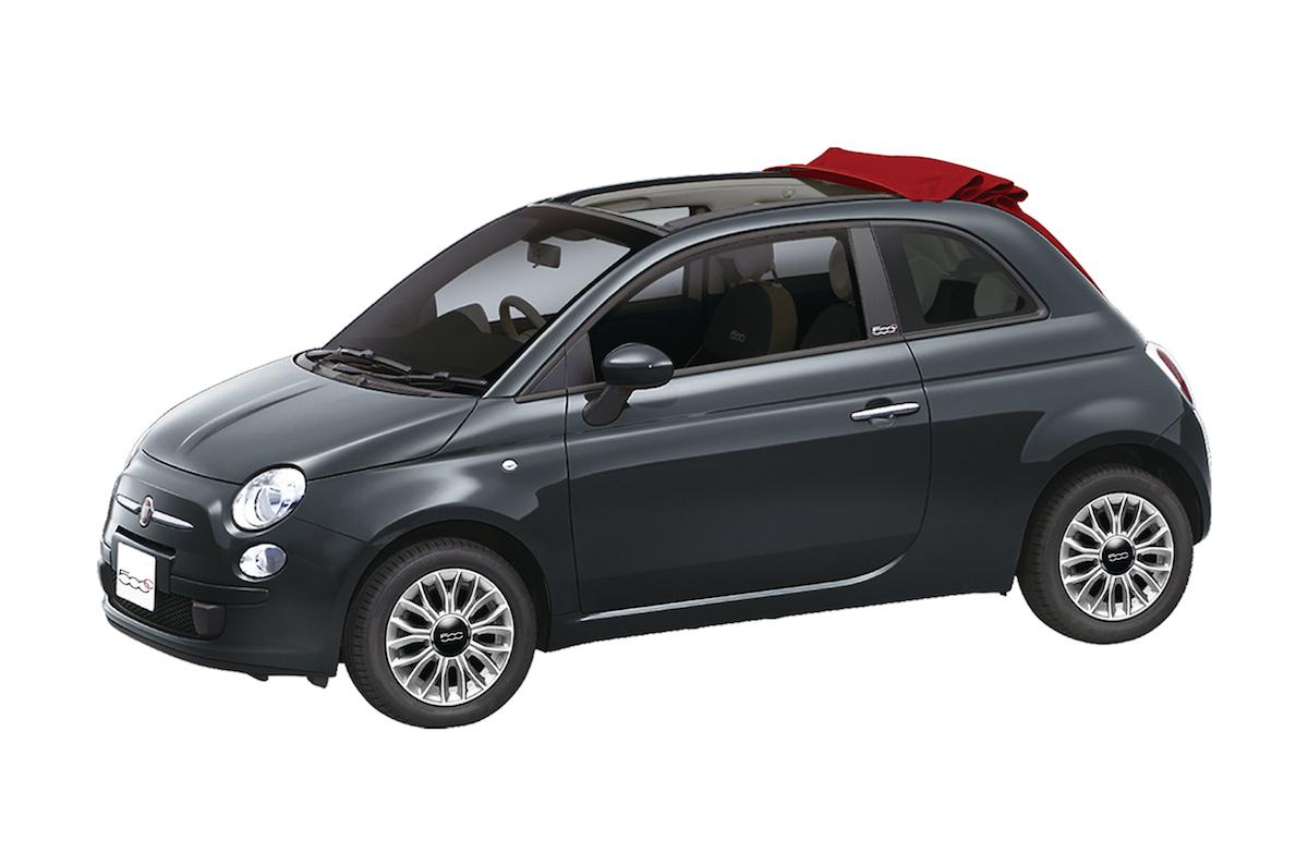 Fiat 500C Tetto Rosso