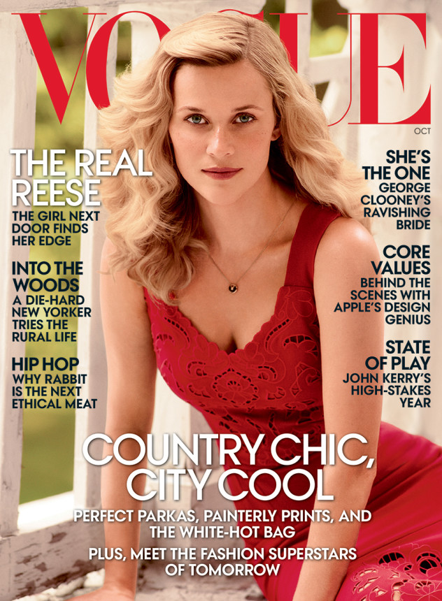 Vogue Reese Witherspoon October cover