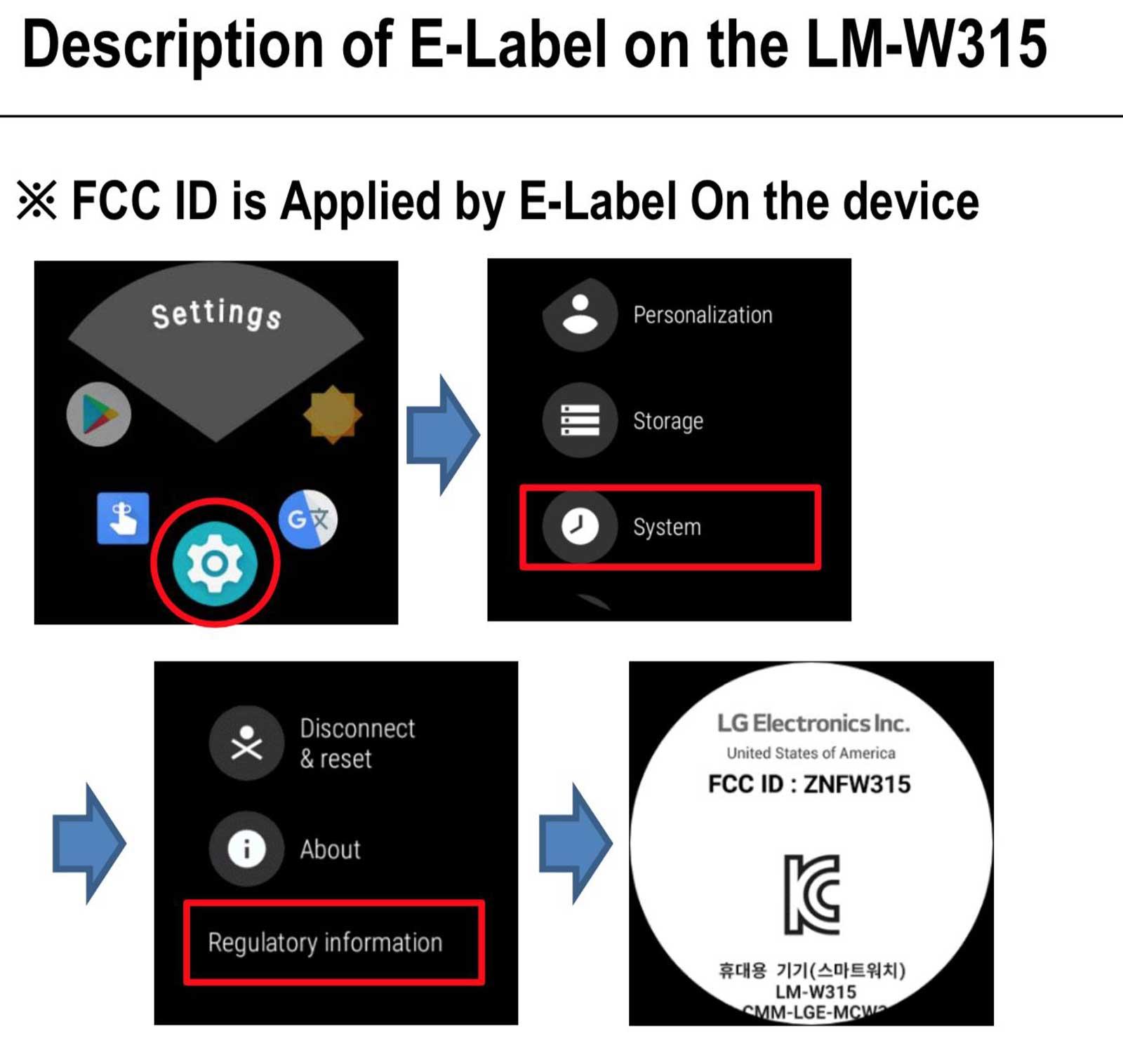 LG's Wear OS watch interface