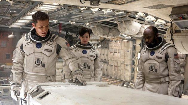 You can get a virtual reality peek at 'Interstellar' in four theaters