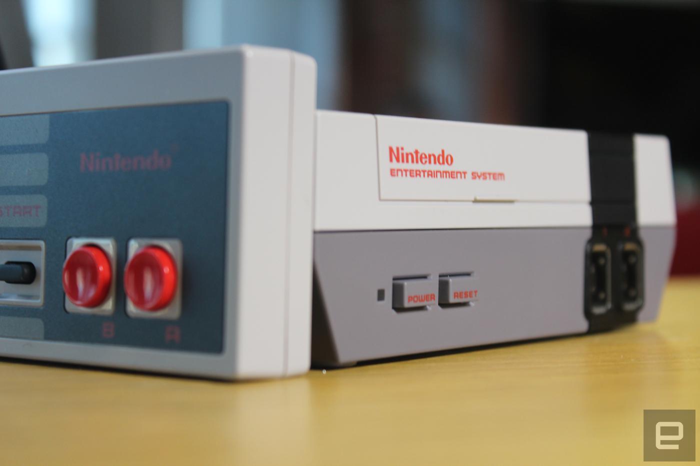 Nintendo vendió 196.000 NES Mini en Estados Unidos durante el mes de noviembre