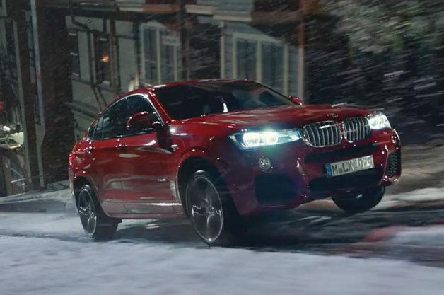 【ビデオ】BMWの新型モデル「X4」の初CMが公開!