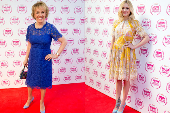 Esther Rantzen wins Tesco Celebrity Mum of the Year - but pregnant Fearne Cotton steals the show!