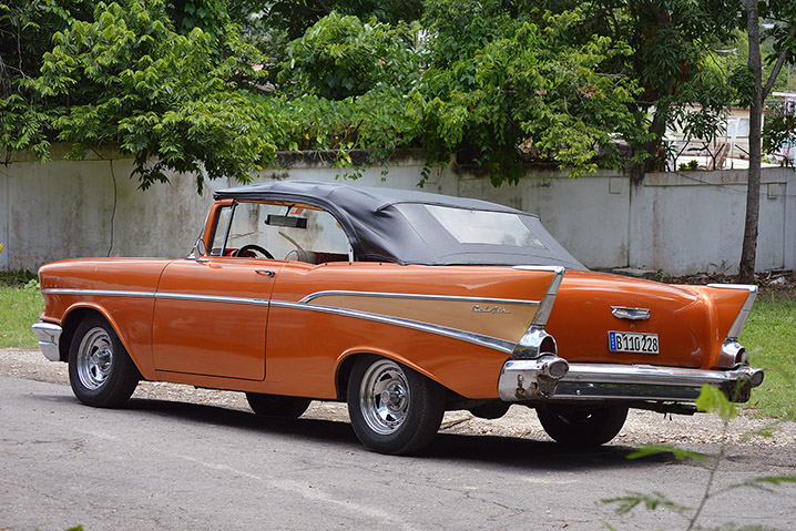 Autoblog In Cuba: 1957 Chevy Bel Air Review