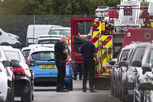 【レポート】ビンラディン一族のジェット機が英国のカーオークション会場に墜落