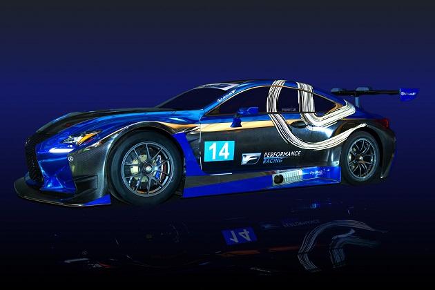 レクサス、新たに立ち上げた「F Performance Racing」チームから「RC F GT3」で米国のレースに参戦