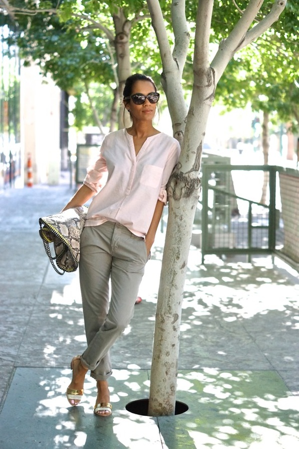 Street style tip of the day: Chino pants