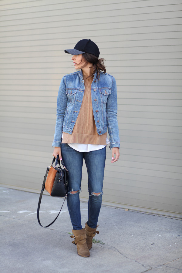 Street style tip of the day: Double denim