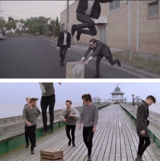 One Direction copied concept for You and I video