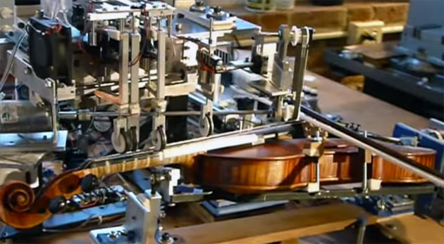 Watch a robot play the violin better than you can
