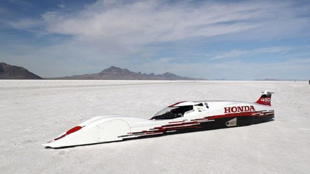 ホンダ、660cc直列3気筒エンジンでブガッティ「ヴェイロン」を凌ぐ速度記録を達成!