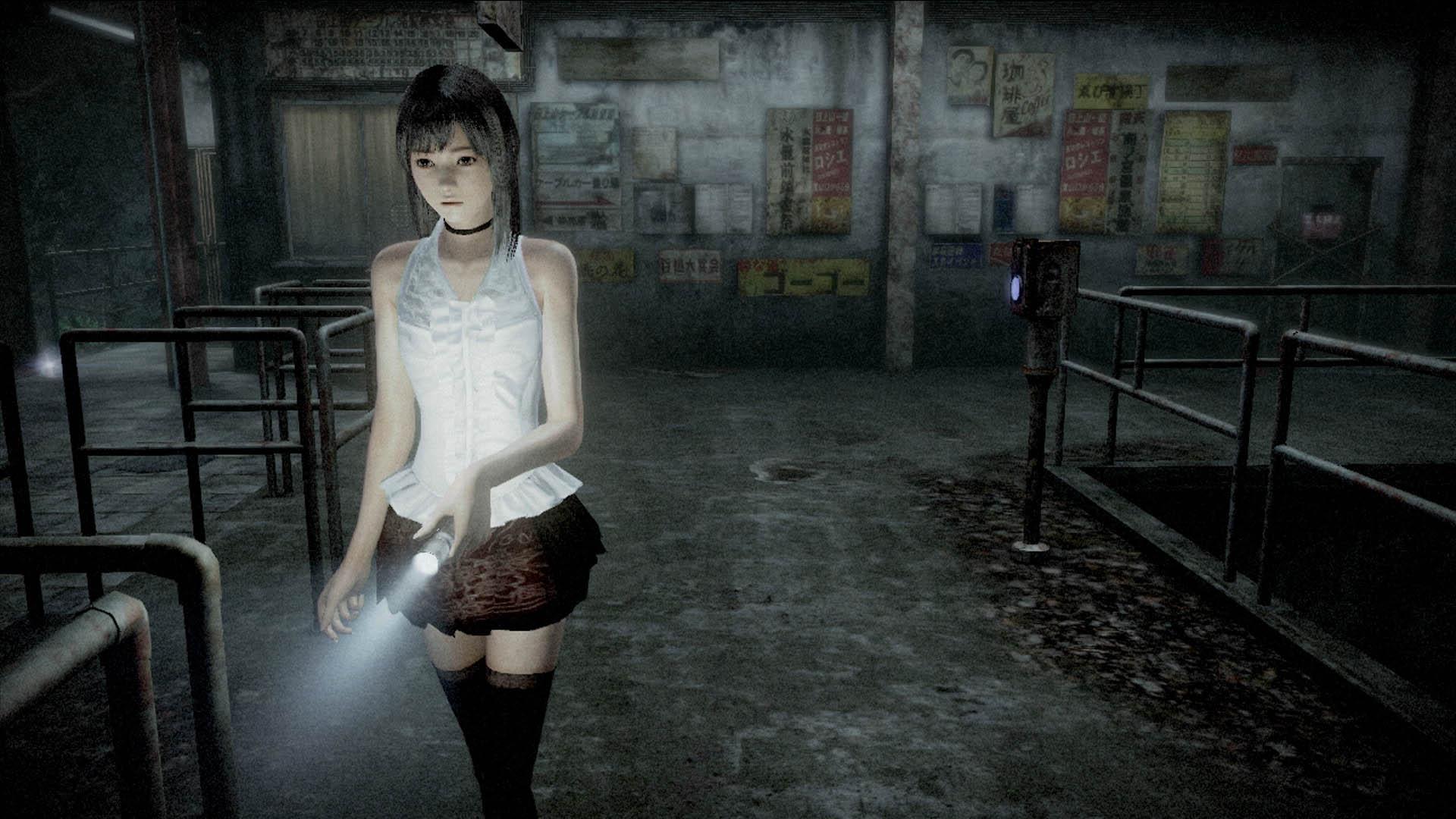 Playdate's Wii U Halloween Horror: 'Fatal Frame' and 'Year Walk'