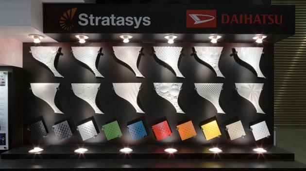 ダイハツが、3Dプリンタで作る「コペン」専用のカスタム外装パネルをストラタシス社と共同開発