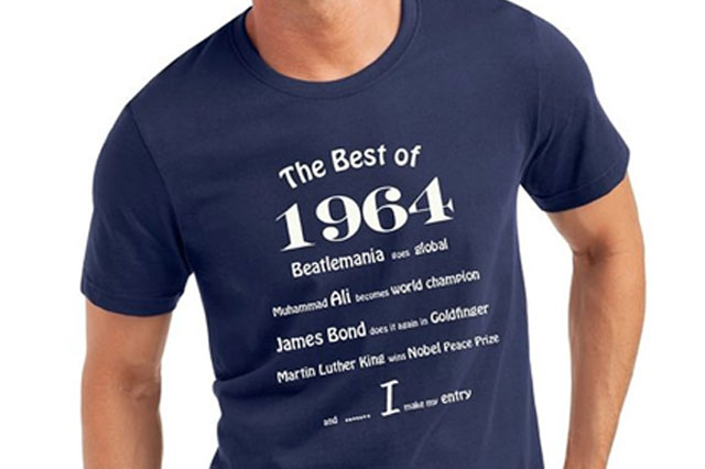 the best of 1964 shirt