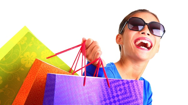 life hacks for assholes, life hacks for a-holes, woman shopping bags