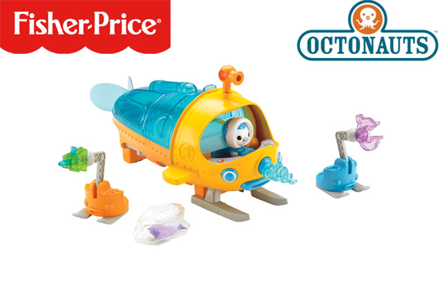 WIN a Fisher-Price Octonauts toy bundle!
