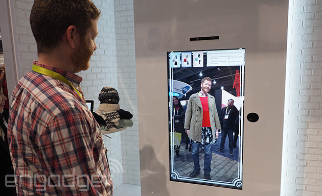 Toshiba 39 S Virtual Fitting Room Doesn 39 T Have Menswear