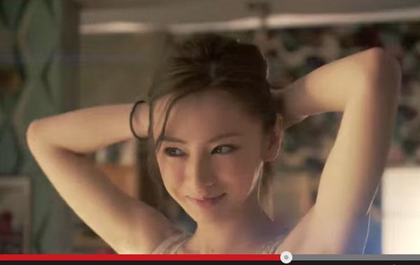 女性がなりたい顔1位・北川景子のCMが「すべて可愛すぎる」とネット上で大人気