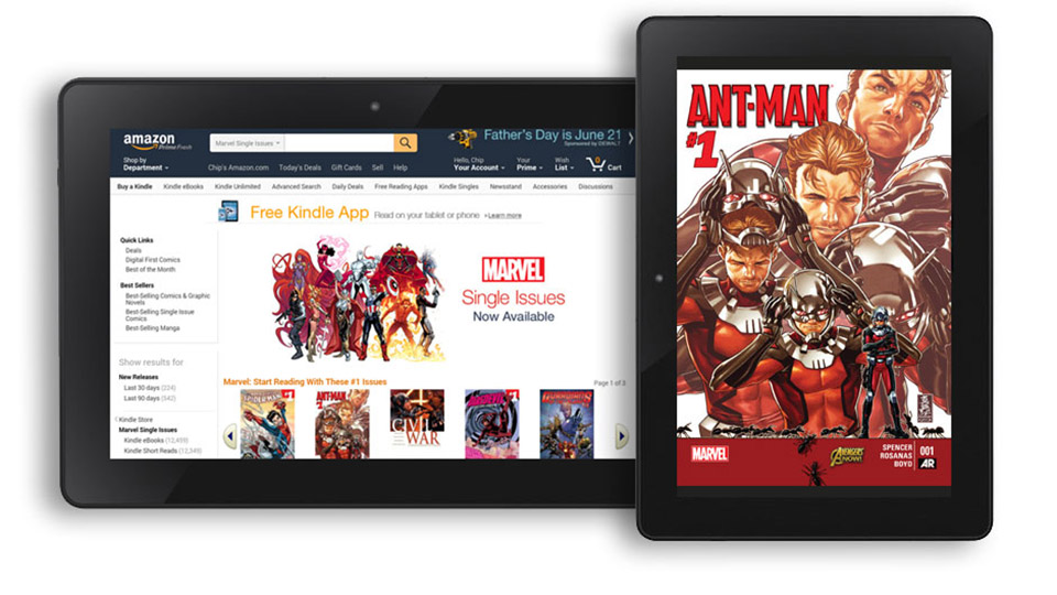 Amazon's Marvel deal puts 12,000 comics in the Kindle store