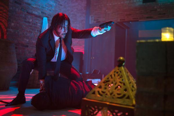 日本よ、これが殺戮だ!キアヌが映画史上最多レベルの人を殺す『ジョン・ウィック』10月公開