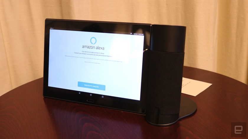 Wie das Lenovo Tab 4 zum Echo Show wird