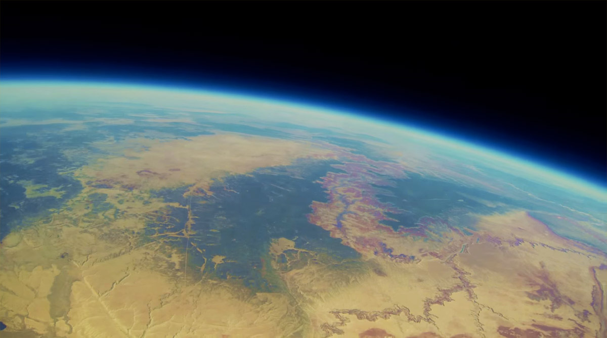 Watch this long-lost GoPro's journey to space and back