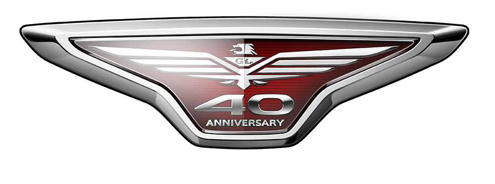 honda Gold Wing 40th