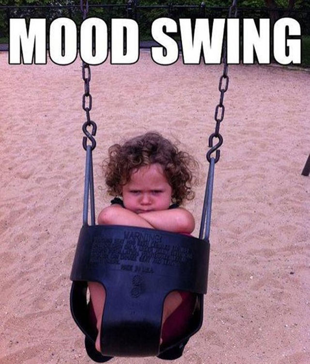 Mood Swing Meme: How A Mum's Photo Of Her Grumpy Toddler ...