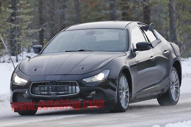 Maserati Ghibi test mule