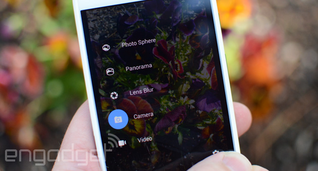 Google's new camera app brings Photo Sphere and Lens Blur to Android devices