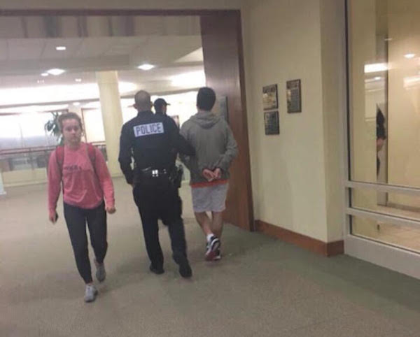 Marquette student caught jerking off in library