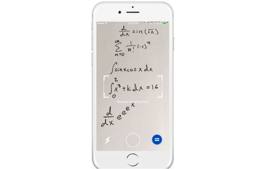 Point your phone at an equation and Mathpix will solve it