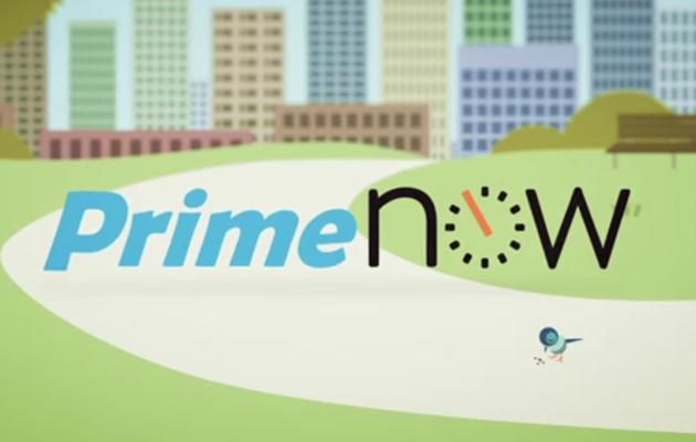 Amazon offers one-hour deliveries with Prime Now