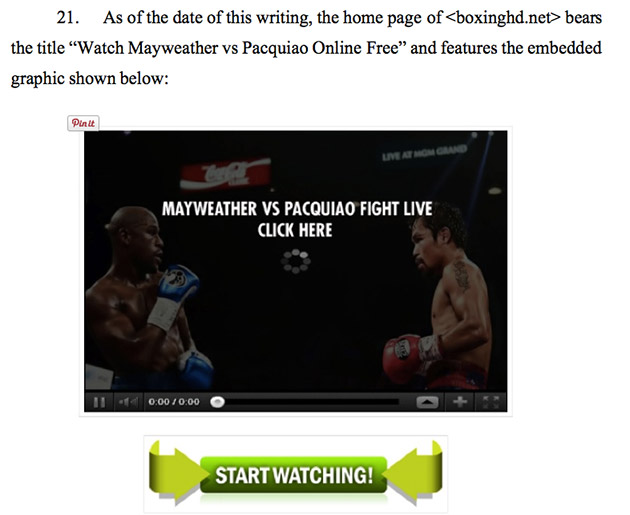 Before Mayweather and Pacquiao, it's HBO and Showtime vs. pirate sites